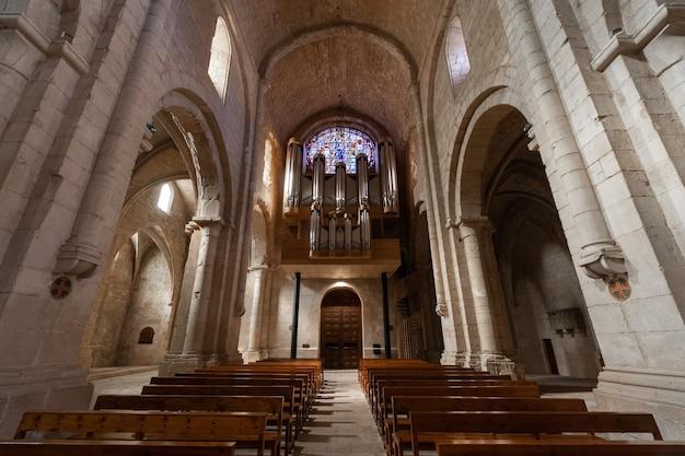 Klooster van poblet, in tarragona, catalonië spanje