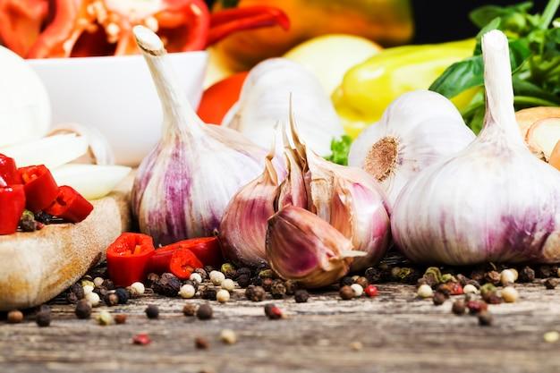 Knoflook en andere groenten