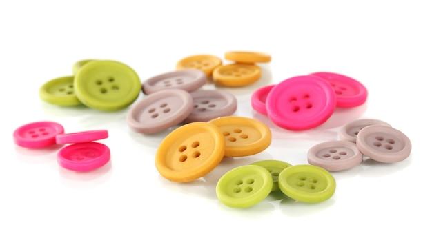 Knoppen in verschillende vormen, maten en kleuren