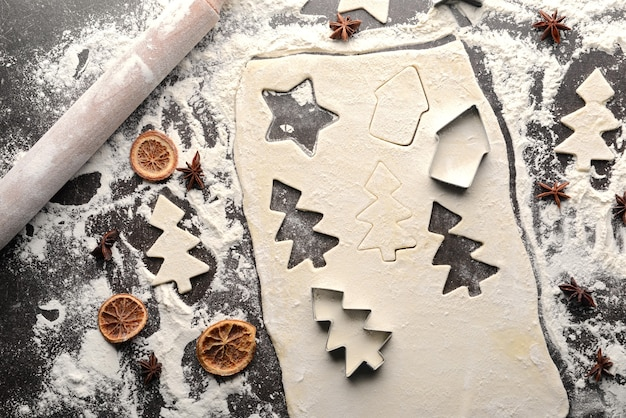Koekjes maken voor het kerstfeest