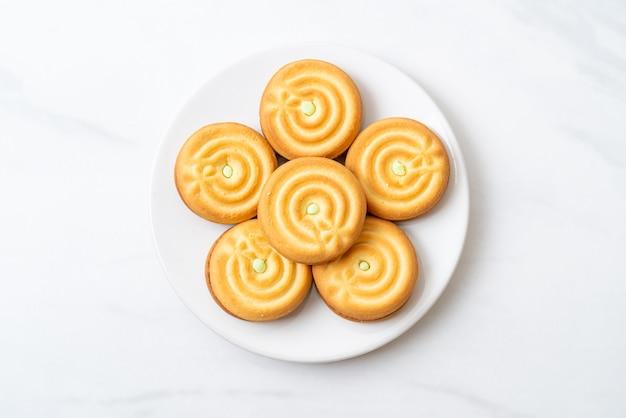 Koekjes met pandancrème