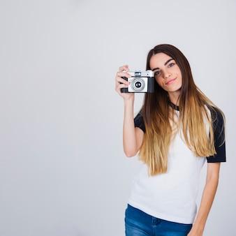 Koel houd met camera