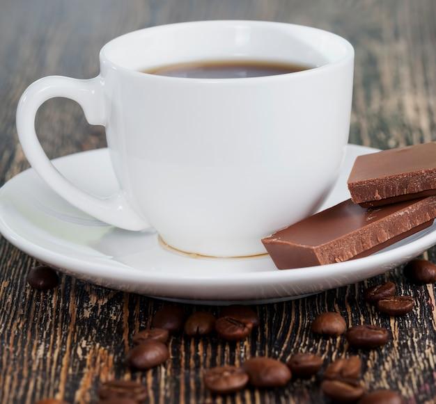Koffie en chocolade