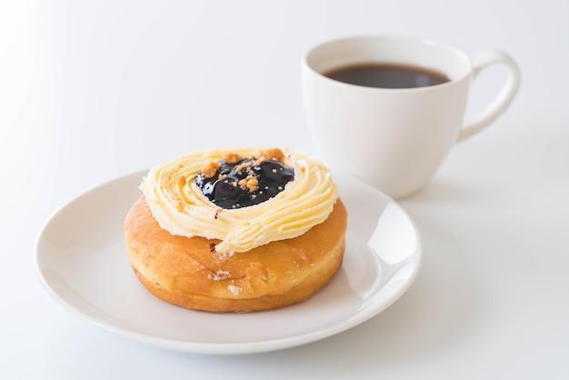 Koffie en donuts