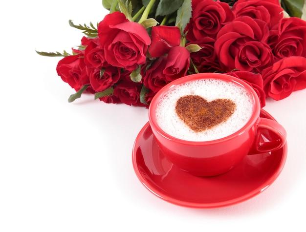 Koffie en rozen
