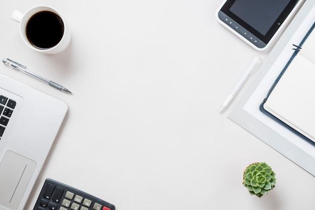 Koffie en technologieën samenstelling