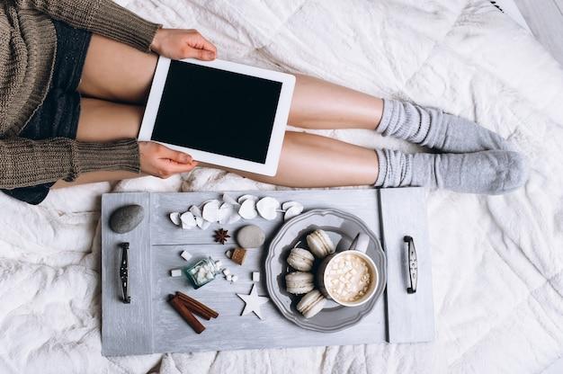 Koffie in bed