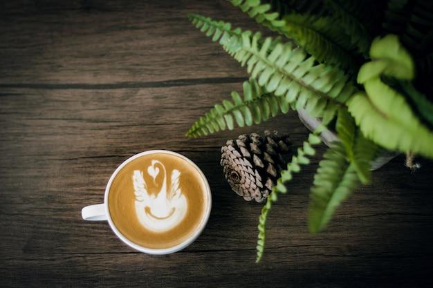 Koffie in de donkere zone