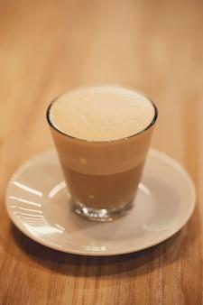 Koffie in glas
