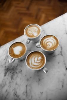 Koffie late kunst