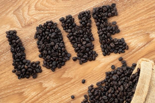Koffie liefhebber valentijn concept.
