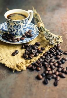Koffie tijd concept