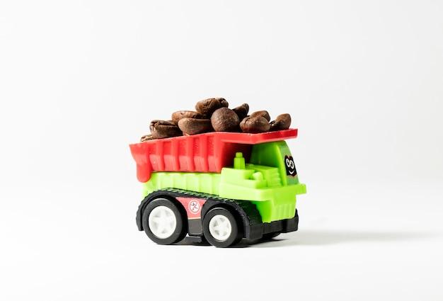 Koffie, transport van koffiebonen