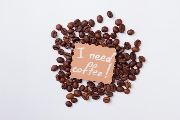 Koffie verlangen concept