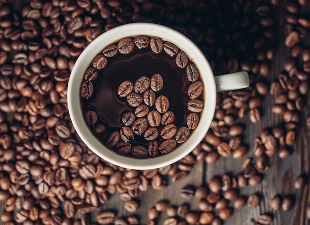 Koffiebonen, gebrande koffieproducten