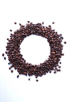 Koffiebonen geïsoleerd