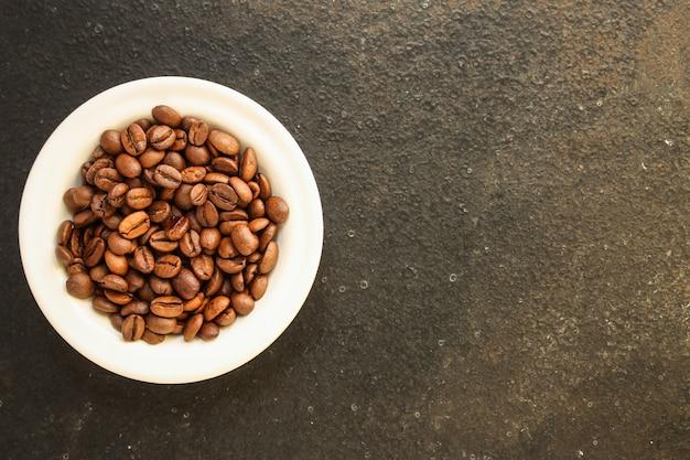 Koffiebonen (goed en slecht graan) - mix van arabica en robusta (gebrande koffieboon).