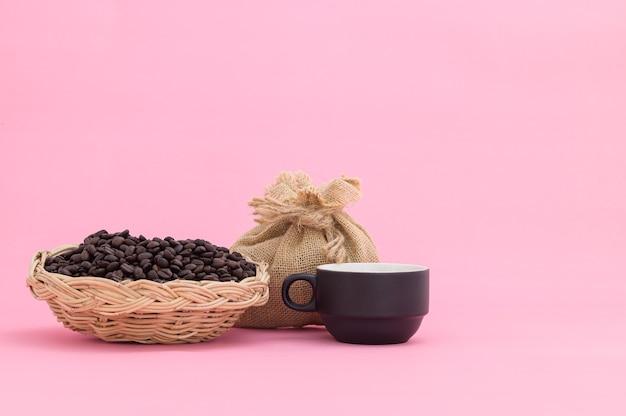 Koffiebonen koffiekopje energie