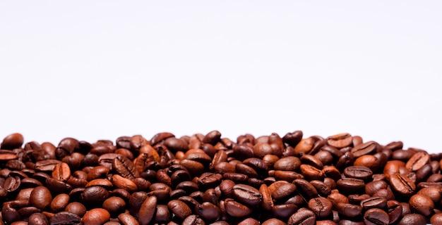 Koffiebonen met wit