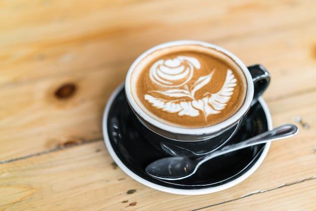 Koffiecrème zwarte kop