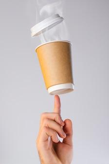 Koffiepauze concept