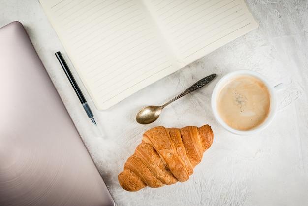 Koffiepauze op de werkplek