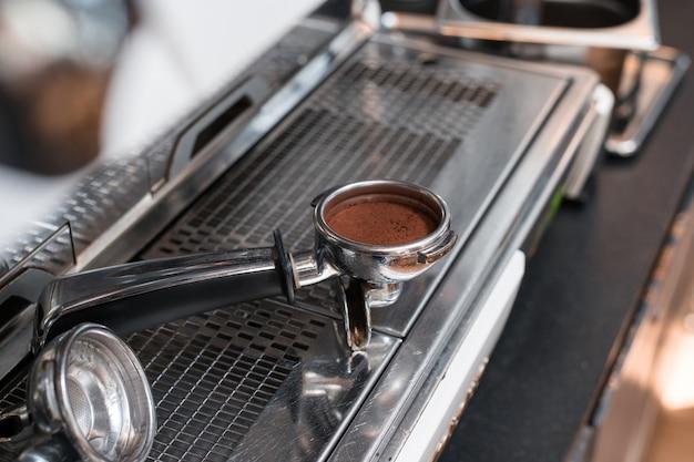Koffiesabotage aan koffiemachine