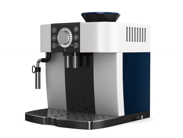 Koffiezetapparaat 3d illustratie