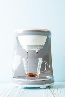 Koffiezetapparaat machine voor het maken van koffie