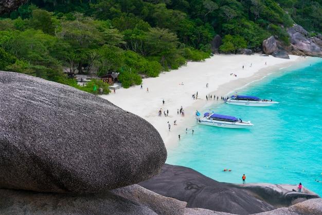 Koh similan, pang-nga, thailand voor een vakantie in azië