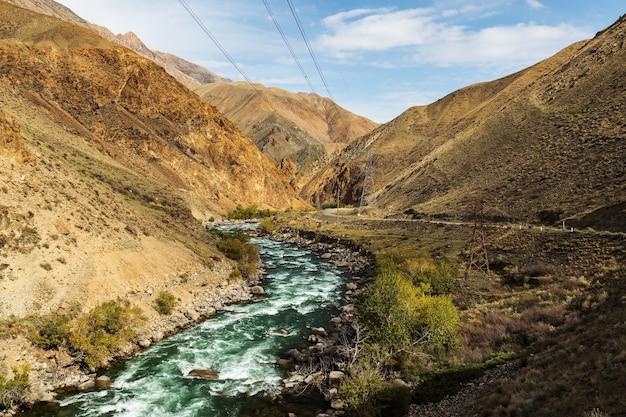 Kokemeren rivier, kirgizië