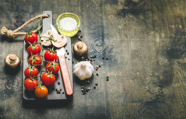 Koken voedsel achtergrond