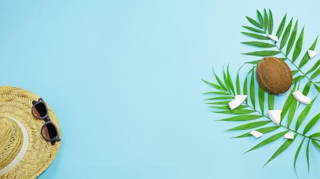 Kokosnoot trotipal achtergrond foto stockafbeelding