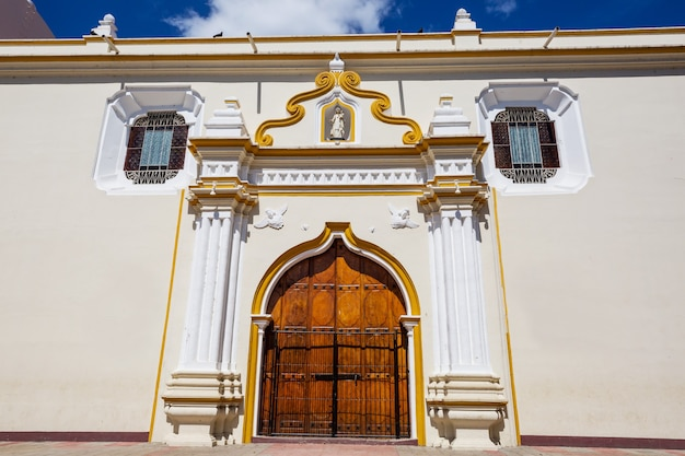 Koloniale architectuur in nicaragua, midden-amerika