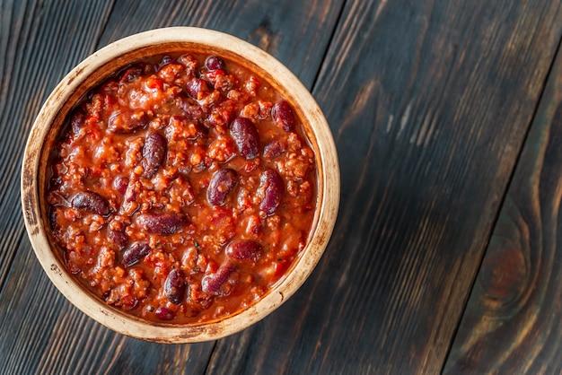 Kom chili con carne