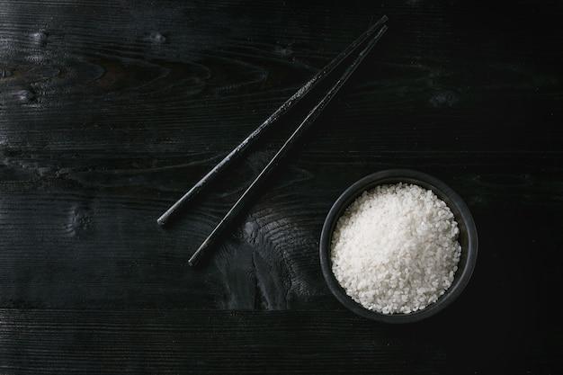 Kom witte rijst