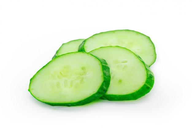 Komkommer geïsoleerd
