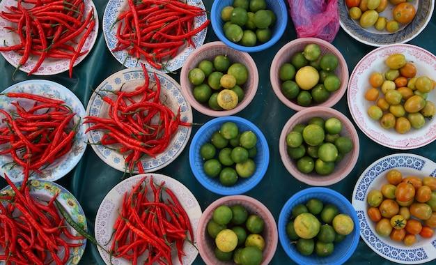 Komkommetjes limoen en chili