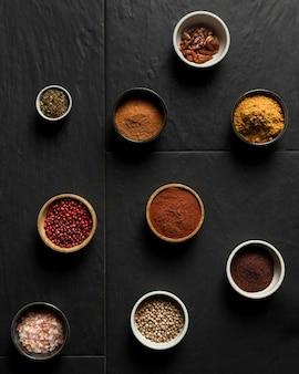 Kompakket met specerijen