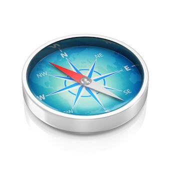 Kompas geïsoleerd