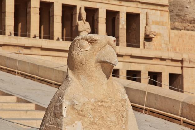 Koningin hatshepsut-tempel in luxor, egypte