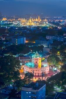 Koninklijk paleis; gouden begrafenis pyre.bangkok thailand