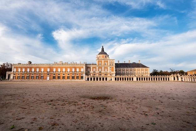 Koninklijk paleis van aranjuez, madrid, spanje.