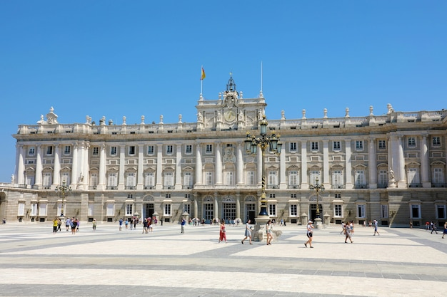 Koninklijk paleis van madrid, officiële residentie van de spaanse koninklijke familie