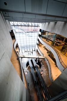 Koninklijke deense bibliotheek in kopenhagen
