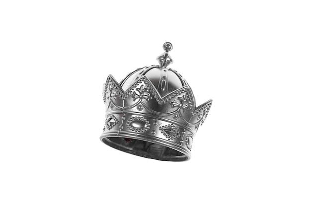 Koninklijke kroon op een witte achtergrond