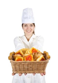 Kook met gebak