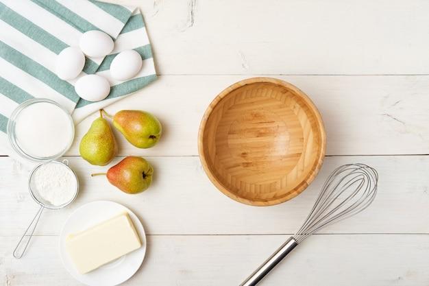 Kookproces stap voor stap perencake
