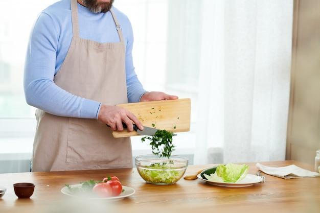 Kookprogramma op volle snelheid