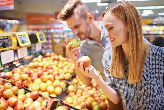 Koop alleen verse en gezonde producten